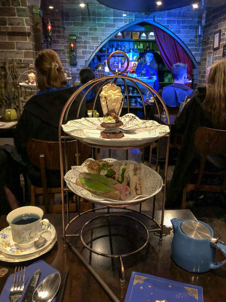 Harry Potter tea in London