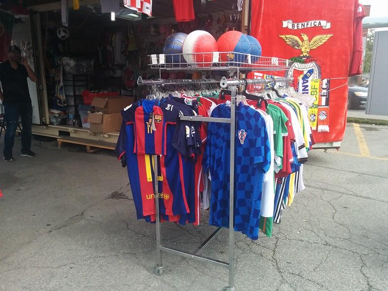 Shopping for the World Cup (3) #toronto #galleriamall #wallaceemerson #dufferinstreet #dupontstreet #shopping #sports #soccer #football #jerseys