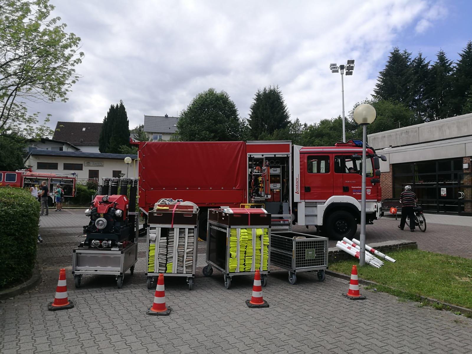GW-L2 mit Rollcontainern