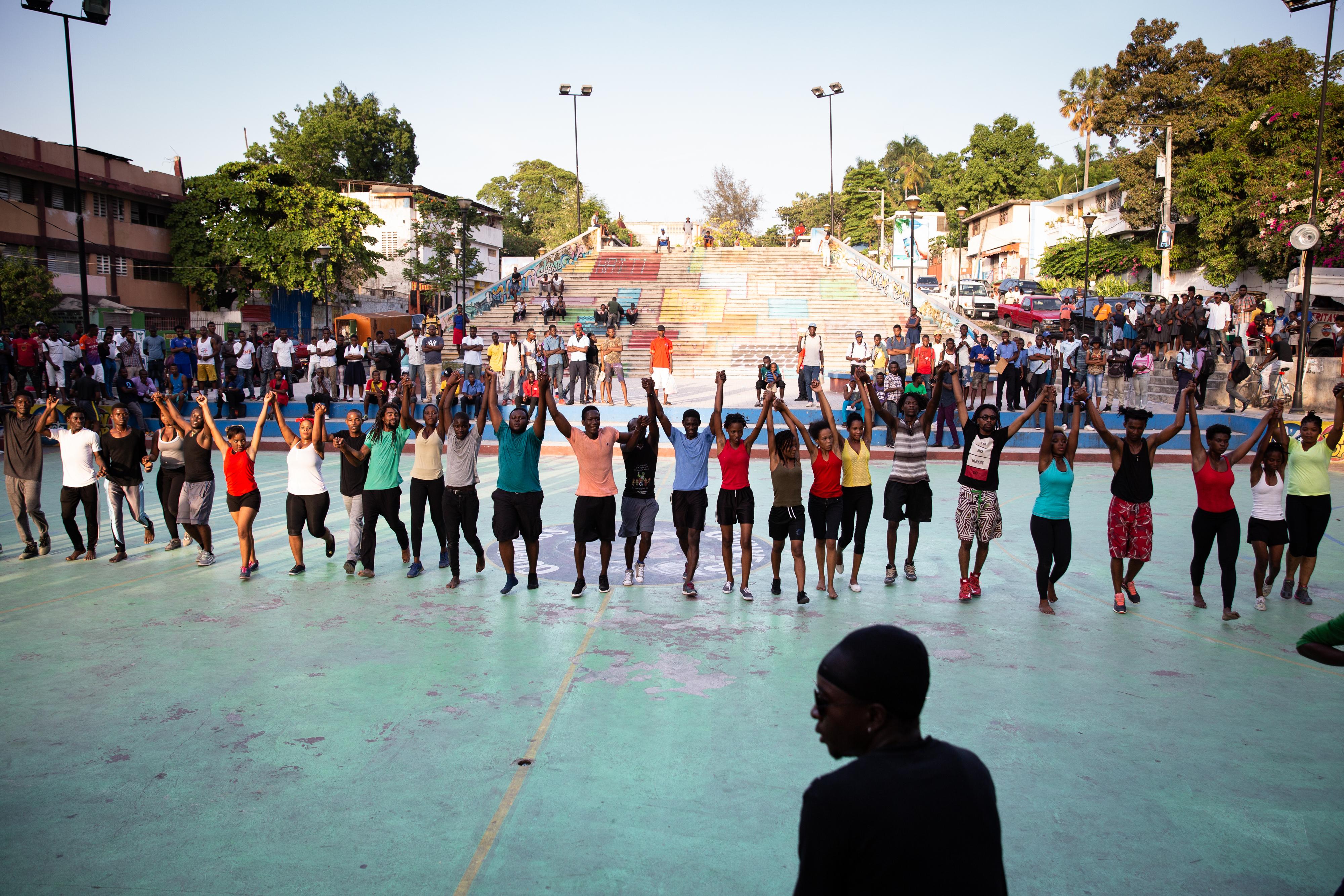 Port-au-Prince Art Performance