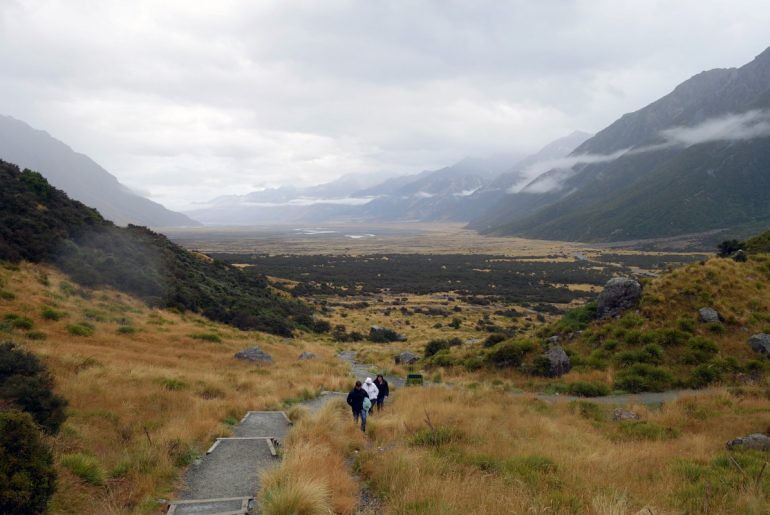 new zealand mount cook