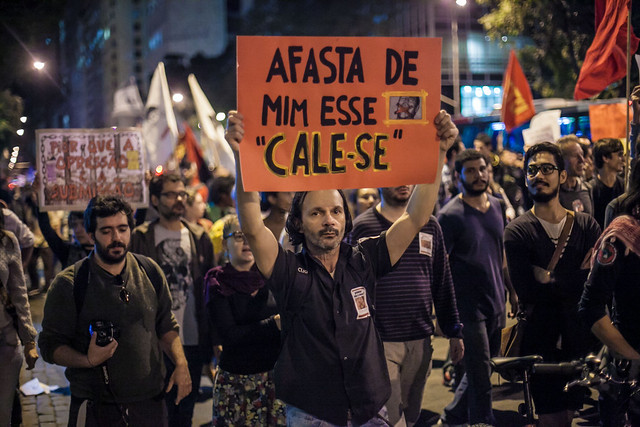 """Ato Nacional """"Protesto não é crime"""", no Rio de Janeiro, em 2014  - Créditos: Mídia Ninja"""