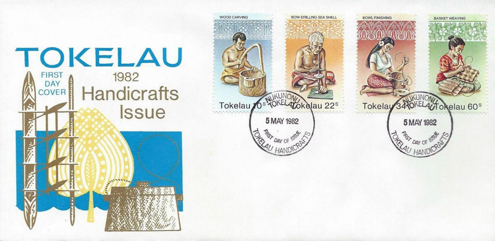 Tokelau - Scott #81-84 (1982)