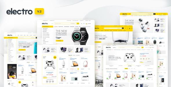 Electro v2.0.9 – Electronics Store WooCommerce Theme