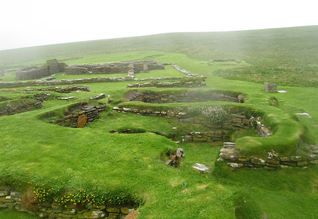 Later Norse Houses, Brough of Birsay
