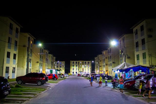 11.07.18. Prefeitura instala iluminação de LED no Conjunto Viver Melhor lll