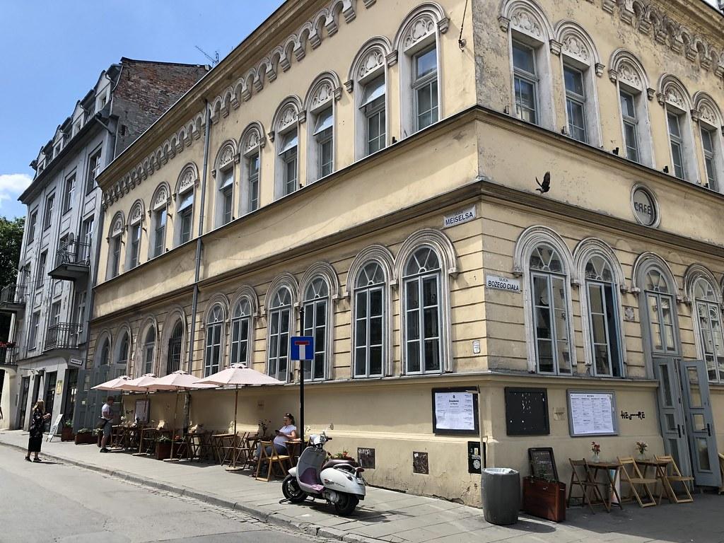 Kazimierz, Krakovan juutaliskorttelit