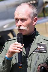 Flt Lt Charlie Brown Supermarine Spitfire Mk.Vb BM597 (G-MKVB) - Histo