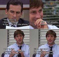 Classic Jim prank