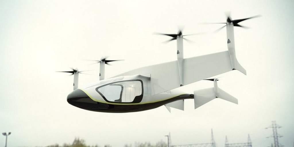 Rolls-Royce plancherait sur un véhicule aérien hybride VTOL