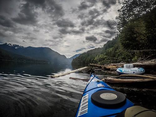 Kayaking on Baker Lake-110