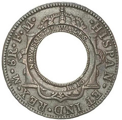 New South Wales Holey dollar reverse