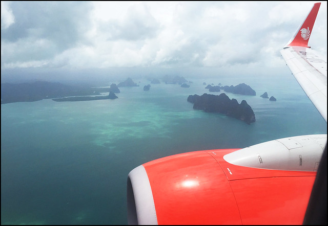 Flying in to Phuket