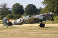 Supermarine Spitfire HF Mk.IXe TD314 (G-CGYJ) - AeroLegends Ltd - Head