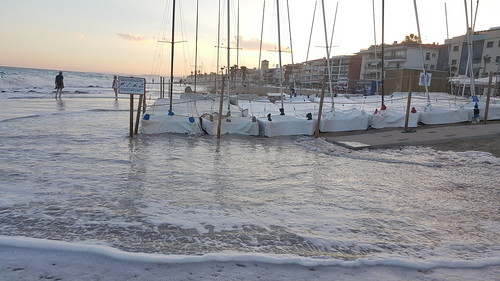 Temporal de mar. 16 de juliol