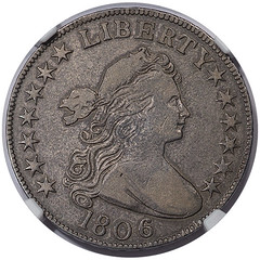 1806 Half Dollar, O-108 obverse