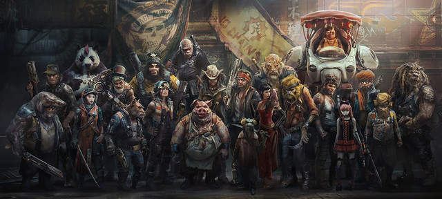#E3 2018 Beyond Good and Evil 2 Art