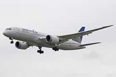 United Airlines Boeing 787-8 Dreamliner N20904