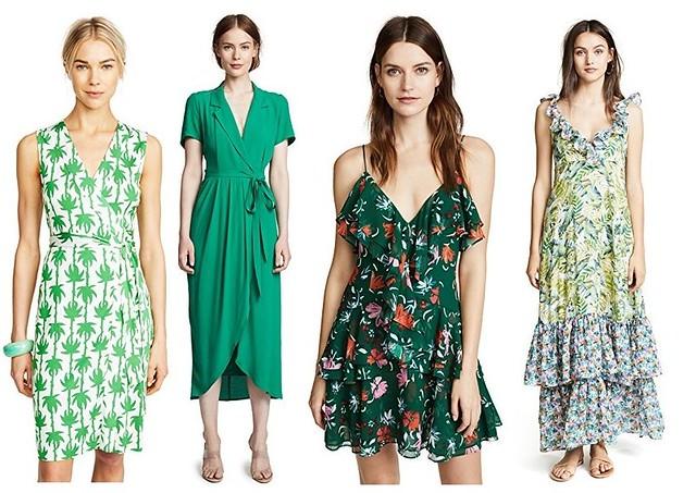 Shopbop green