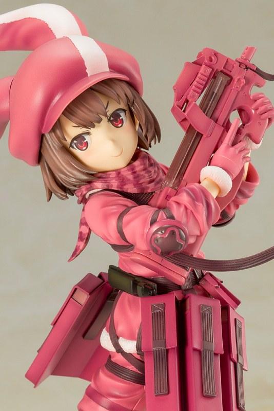 【更新官圖&販售資訊】可愛的「粉紅惡魔」來襲!壽屋《刀劍神域外傳Gun Gale Online》蓮(レン)1/7比例模型