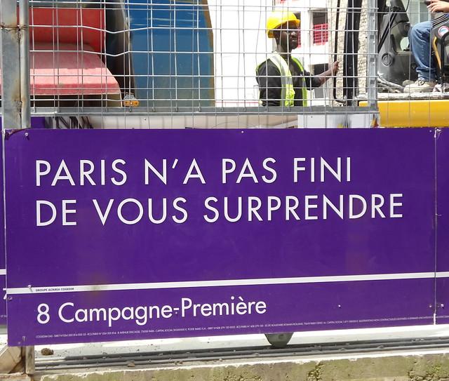 Paris never ends surprising you
