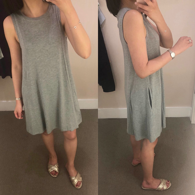 Lou & Grey Signaturesoft Pocket Swing Dress, size XS regular