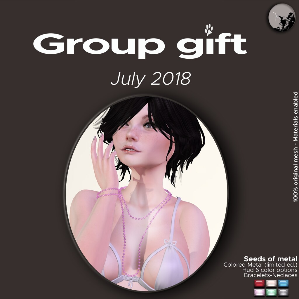 July groupgift : Seeds of metal/Colored metal version (limited ed.) - TeleportHub.com Live!