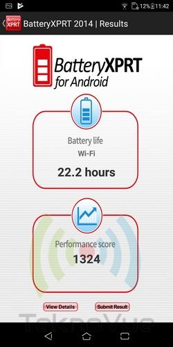 ASUS Zenfone Live L1 - BatteryXPRT