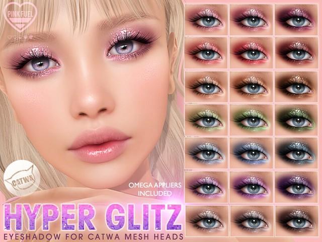 [PF] CATWA Eyeshadow - Hyper Glitz (Crystal Heart Festival)