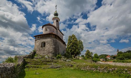 slovenia slowenien kamnik maligrad chapel kapelle bauwerk kirche