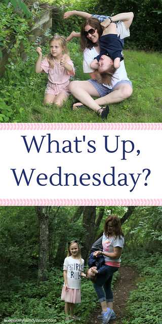 What's Up, Wednesday? What we're eating, watching, listening to, reading and wearing. #momlife #momblogger #downsyndrome #motherhood