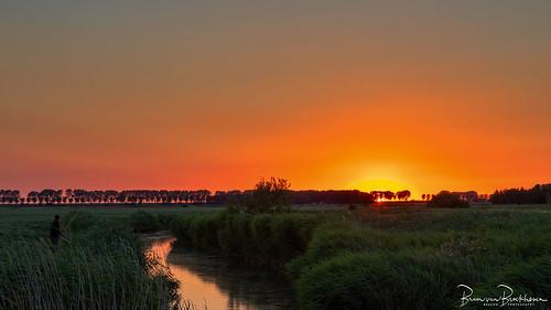Sunset last day June 2018