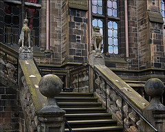 The Lion & the Unicorn Staircase
