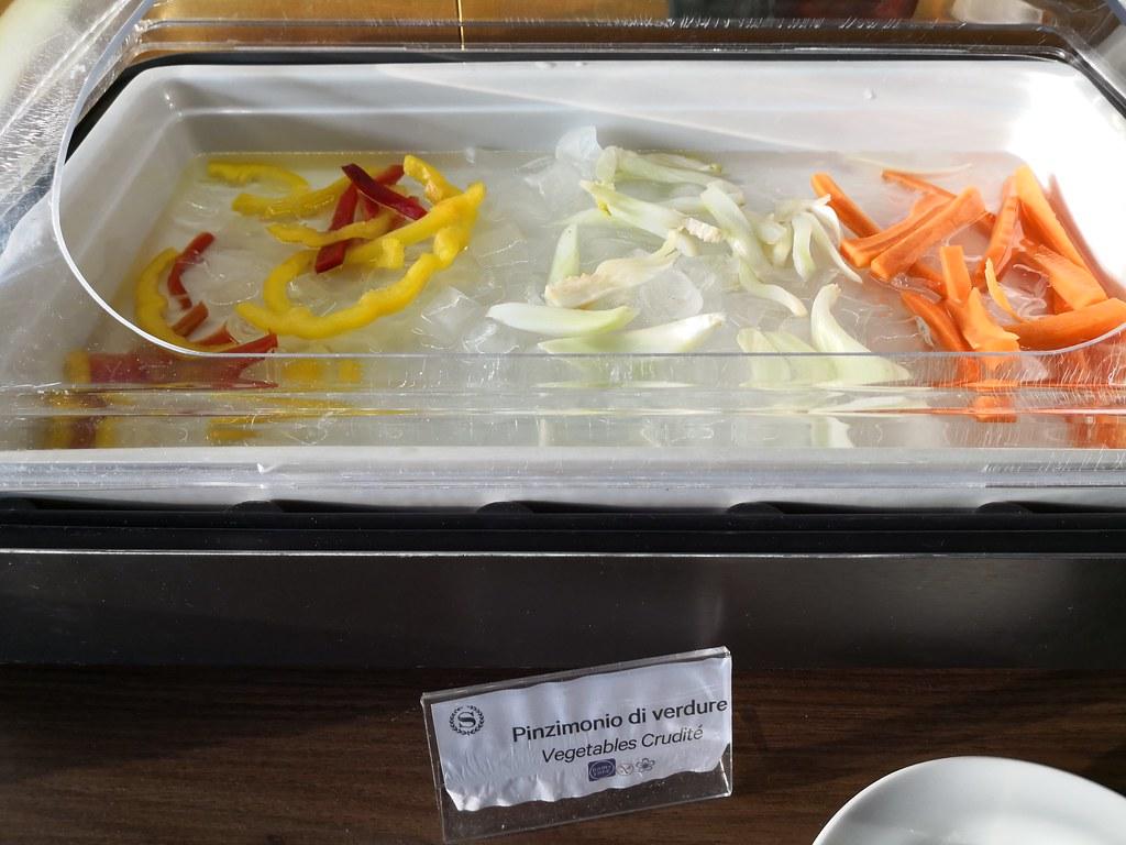 Vegetables crudite