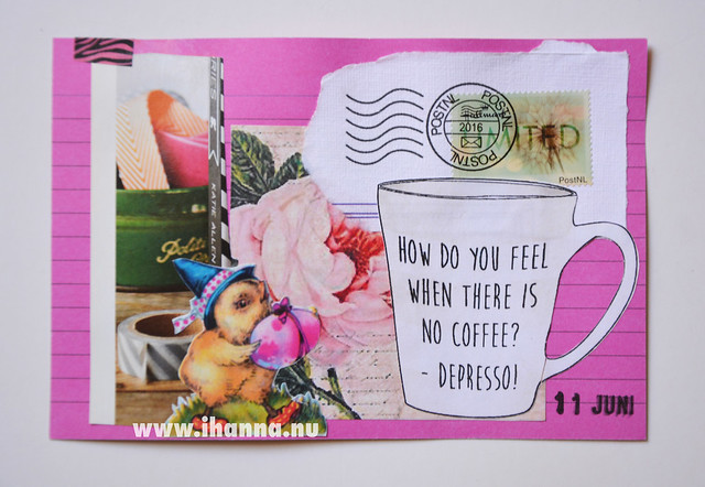 Index Card Collage 11 June 2018 by iHanna aka Hanna Andersson #ihannasICAD #dyICAD2018