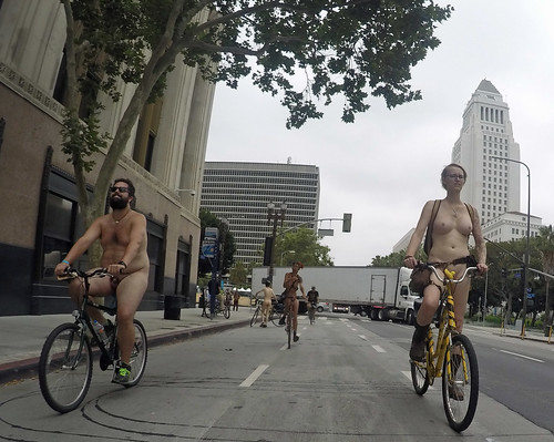 L.A. World Naked Bike Ride 2018 (115454A)