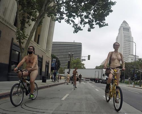 L.A. World Naked Bike Ride 2018 (115454A)