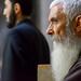 4. Uno de los sacerdotes de barba blanca que encontré en el Santo Sepulcro de Jerusalén