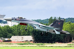 LBG - Sukhoi Su-27UB (07) Russia Air Force