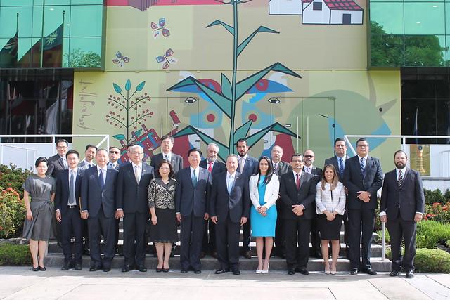 Canciller de la República de China (Taiwán) reitera su apuesta por la agenda regional del SICA