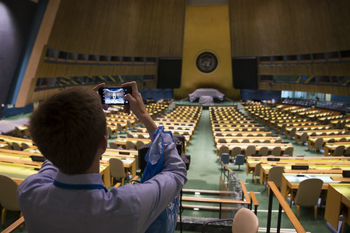 #NSLCINTL visits the United Nations