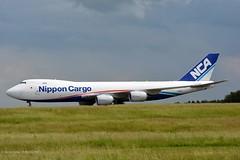 JA15KZ B747 Nippon Cargo Airlines