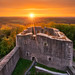 Sunset at castle Weidelsburg by Alexander Lauterbach Photography