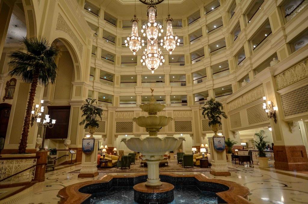 Tokyo Disneyland Hotel lobby TDR