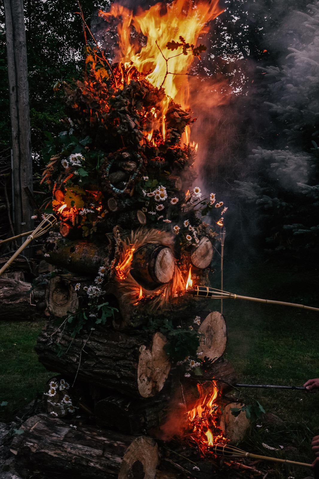 Midsummer celebration traditions in Latvia