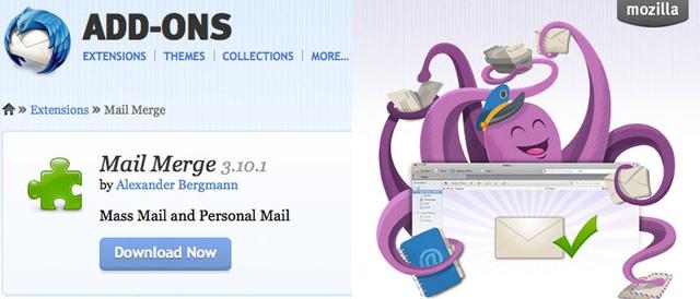 """""""Tuyệt chiêu"""" gửi email hàng loạt bằng Mozilla Thunderbird"""