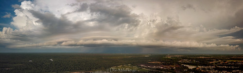 mavicpro drone panoramic panoimages9 panorama nature thunderstorm stormy sky clouds aerial weather outdoors florida venice unitedstates us
