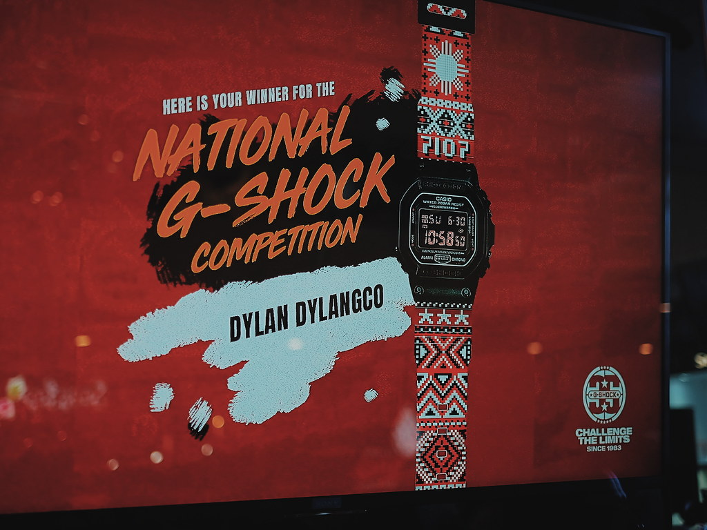 """Design the National G-Shock"" contest winner Dylan Dylanco"