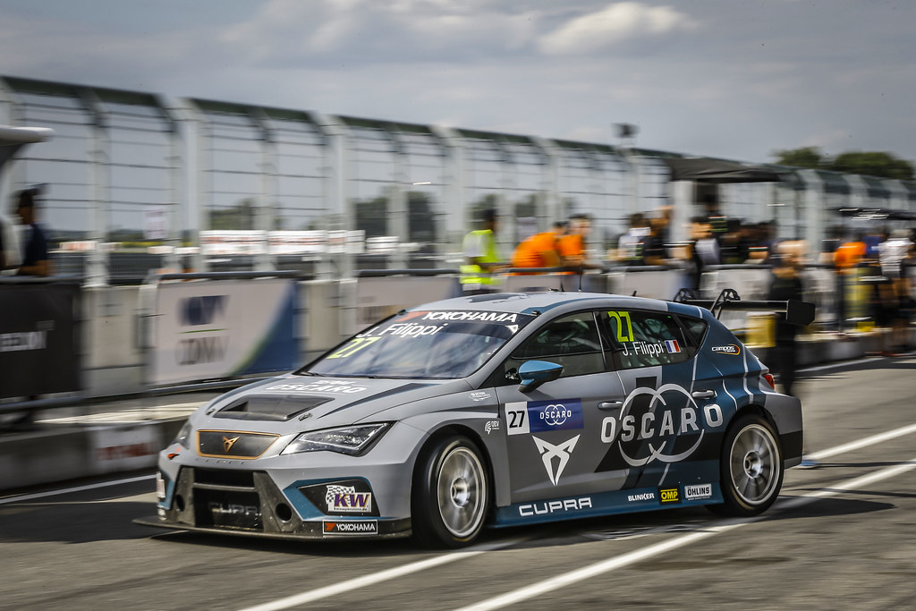 27 FILIPPI John, (fra), Seat Cupra TCR team Oscaro by Campos Racing, action during the 2018 FIA WTCR World Touring Car cup race of Slovakia at Slovakia Ring, from july 13 to 15 - Photo Jean Michel Le Meur / DPPI