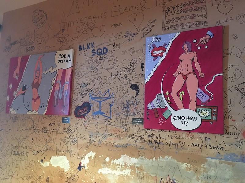 výstava MÁTOVÝ VLK – PASSIONFRUIT @ BAR JOSIE, PRAHA